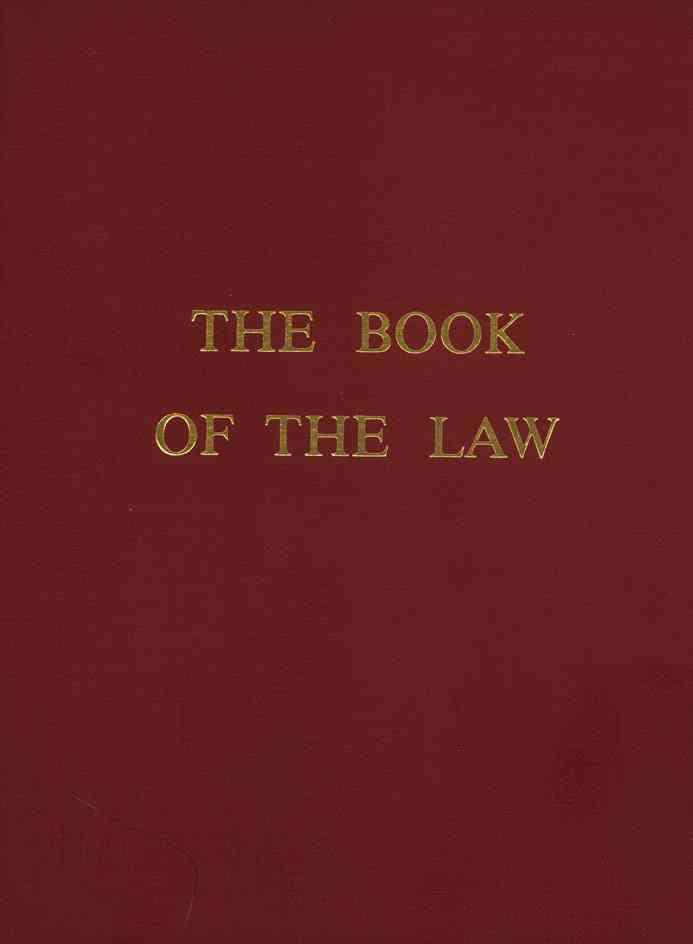 Book of the Law By Crowley, Aleister