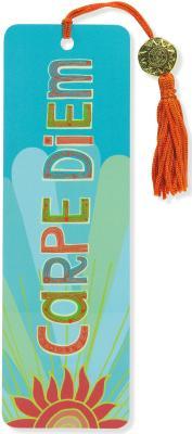 Carpe Diem Beaded Bookmark By Peter Pauper Press (COR)